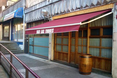 Instalación toldo en Bar las torres, Bilbotoldo