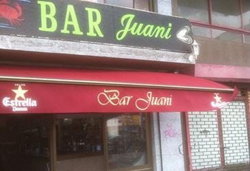 Instalación toldo bar juani , Bilbotoldo