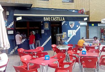 Toldo art instalado en el Bar Castilla